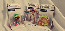 WORLD of NINTENDO mini figure 3 lot ZELDA METROID video game toy JAKKS pacific