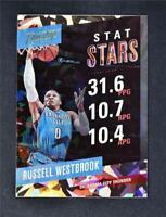 2017-18 Prestige Stat Stars Crystal #6 Russell Westbrook
