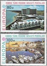 Türkisch-Zypern 41-42 (kompl.Ausg.) postfrisch 1977 Europa