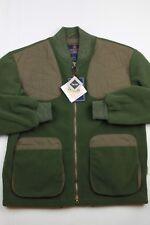 NWT Beretta 1526 Loden Green Victory Fleece Full Zip Jacket Game Hunting M