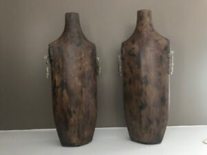 "Beautiful Wood Vases - ""Privilege"" Modern - Sleek + Unique!  - NEW!  FREE SHIP!!"