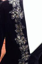 Vintage Radley Black Velvet Dress