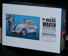 Arii 1950 VW Volkswagen Beetle split rear window Police car model kit 1/32