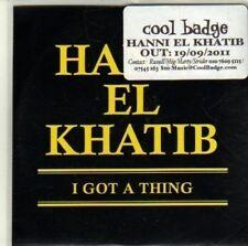 (CI497) Hanni El Khatib, I Got A Thing - 2011 DJ CD