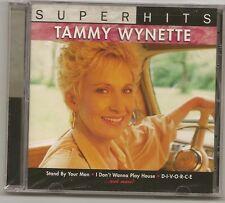 "TAMMY WYNETTE, CD ""SUPER HITS"" NEW SEALED"