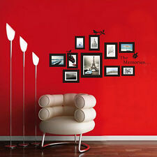 Pictures Photo Frame The Memories Quote Wall Sticker Art Decor Removable Decals