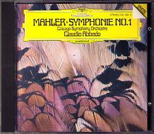 Claudio ABBADO: MAHLER Sinfonie No.1 Titan Chicago Symphony Orchestra CD DG 1982