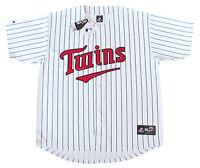 Minnesota Twins MLB Majestic Pinstripe Big & Tall Home Men's Replica Jersey