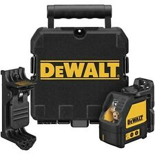 DEWALT DW087K Self Leveling Cross Beam, Multi Line Laser Level w/Case NEW