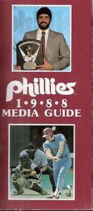 1988 Philadelphia Phillies Media Guide