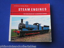 Salmon Colour Book -  Steam Engines    1960s