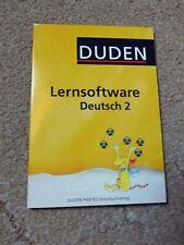 Duden Lernsoftware Deutsch 2