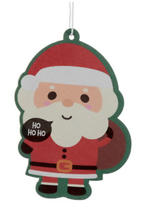 Father Christmas Santa Car Air Freshener Winter Berries Scent Secret Santa Gift