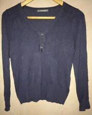 "Ladies V-Neck With Buttons On Neckline Jumper Chest 34""<NH7049"