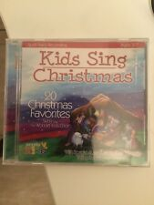 Kids Sing Christmas 20 Favorite Songs Story of Christ Birth Christian Age 3-7