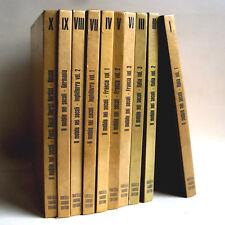 IL MOBILE NEI SECOLI-10 VOL.- ALVAR GONZALES PALACIOS-F.LLI FABBRI EDITORI 1969