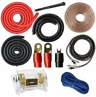 SoundBox K0, 0 Gauge Amplifier Install Kit Amp Wiring Installation Cables 6000W