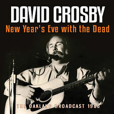 DAVID CROSBY New Sealed 2019 UNRELEASED NEW YEARS EVE LIVE 1986 CONCERT CD