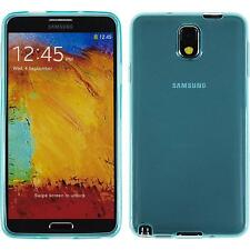 Coque en Silicone Samsung Galaxy Note 3 transparent turquoise