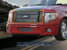 Fedar Upper Billet Grille For 2009-2012 Ford F-150 Lariat/King Ranch - Polished