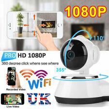 1080P HD Wireless IP Camera Home Security Smart WiFi Audio CCTV Camera UK