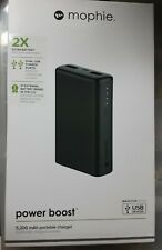 MOPHIE PQWE BOOST 2X 5,200 MAH PORTABLE CHARGER WITH DUAL USB CHARGE PORTS