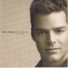 CD  SP  2T RICKY MARTIN *PRIVATE EMOTION*