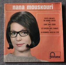 Nana Mouskouri, petits enfants du monde entier + 3, EP - 45 tours