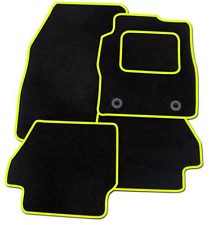 TRIUMPH SPITFIRE Fully Fitted Custom Made Tailored Car Floor Mats Black & Yellow