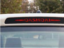 Carbon Fiber 3RD Brake Light Car Sticker Decal Graphics  For Hyundai Qashqai