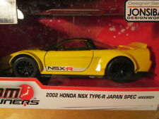 Jada Toys JDM Tuners Yellow 2002 Honda NSX Type-R - SCALE 1/32