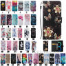 For Samsung Galaxy S7 Edge S8 S9+ S10+ Leather Wallet Flip Card Phone Case Cover