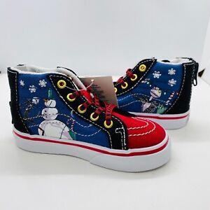 Vans x Disney Sk8-Hi Zip Nightmare Before Christmas Town Shoes Ships Same day!