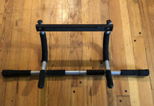 Pro Fit Iron Gym Total Upper Body Workout Pull Up Chin Up Bar Door Frame