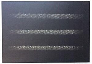 "KATSUNORI HAMANISHI ""Game Work No.11"" Large Original Mezzotint Print Ropes"