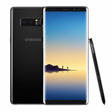Samsung Galaxy Note8 Dual SIM SM-N950 - 64GB - Midnight Black (Unlocked) Smartp…