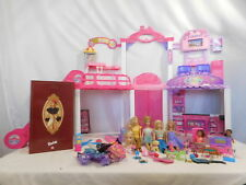 Barbie Malibu Ave Shopping Mall Playset w Escalator + New Barbie + Lots of Acces