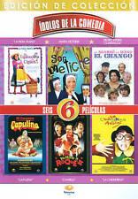 Idolos De La Comedia - 6 Peliculas
