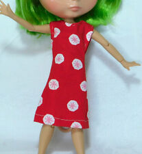 Red Mod Dress - Cute Simple Everyday Blythe Outfit