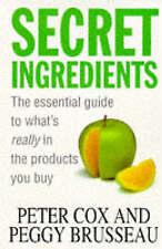 Secret Ingredients by Peter Cox, Peggy Brusseau (Paperback, 1997)