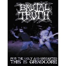 BRUTAL TRUTH-FOR THE UGLY & UNWANTED THIS IS GRINDCORE-DVD