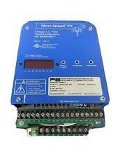 Power Electronics M546cx Microspeed Frequency Drive 3 Phase Variable Speed Parts