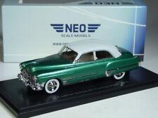 (KI-12-26) Neo Scale Models Cadillac Series 62 Sedan 1949 grün met. 1:43 in OVP