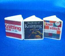 Birchcroft Thimbles -- Miniature Book Style  - Set of 3  Knitting ( Make Offer )