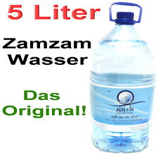 5 Liter Zamzam Wasser aus Mekka Brunnen Kaaba 100% Original *Allah Muslim Islam*