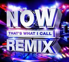 NOW THATS WHAT I CALL REMIX (Various Artists) 2 CD SET (2018)