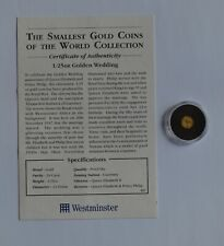 More details for 1993 coronation of queen elizabeth ii 40th anni.gibraltar 1/25 oz gold coin gold