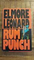 RUM PUNCH - Elmore Leonard - Signed & Inscribed - 1992 First Edition