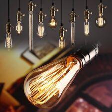 Retro Edison Bulbs E27 Incandescent Bulbs 60W Filament Bulb Vintage Edison Light