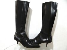 PRADA Leather Boots Brown Women's 38.5 (8.5)